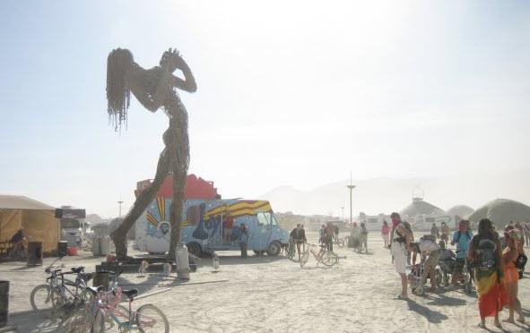 Burning-Man Festival, USA