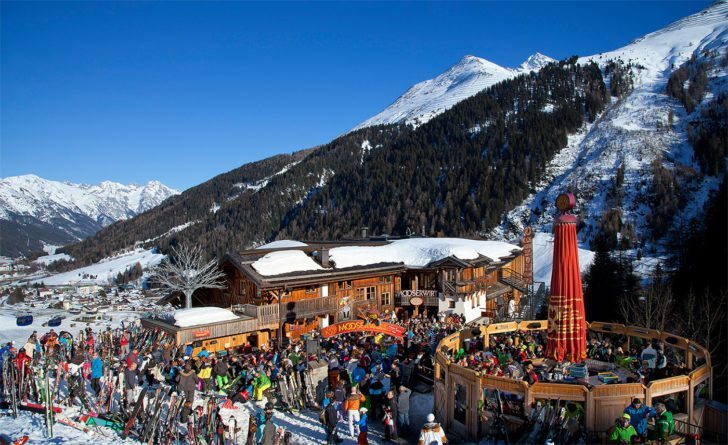 Apres Ski im Mooserwirt in St. Anton am Arlberg