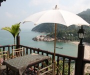 Romantische Bucht auf Koh Phangan