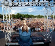 David Guetta auf Henry Island