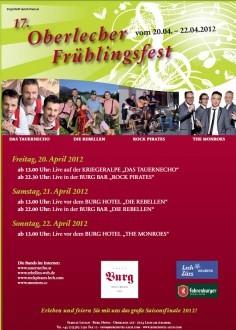 Frühlingsfest in Oberlech 2012