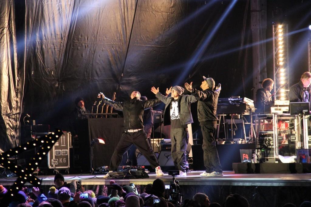Die Fantastischen Vier – Erstes REKORD Live Konzert in Schruns