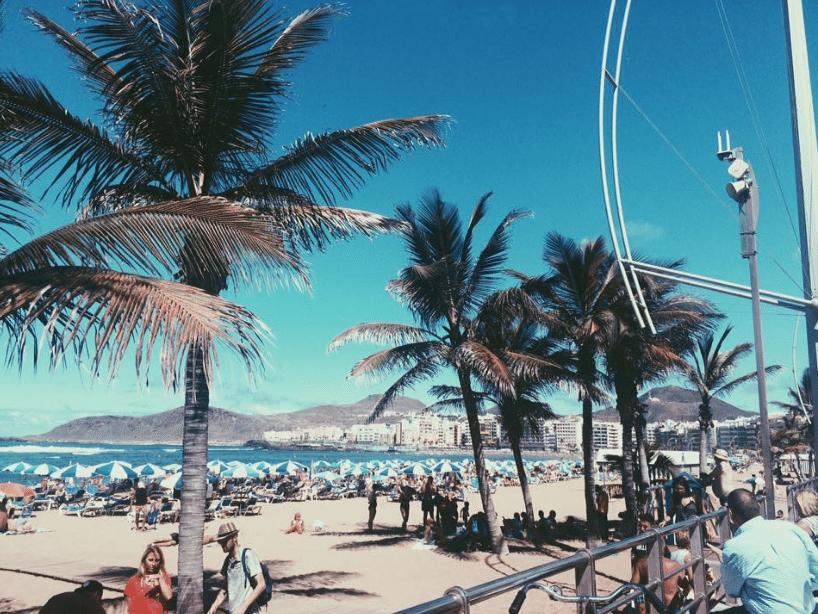 Strand von Gran Canaria, Spanien