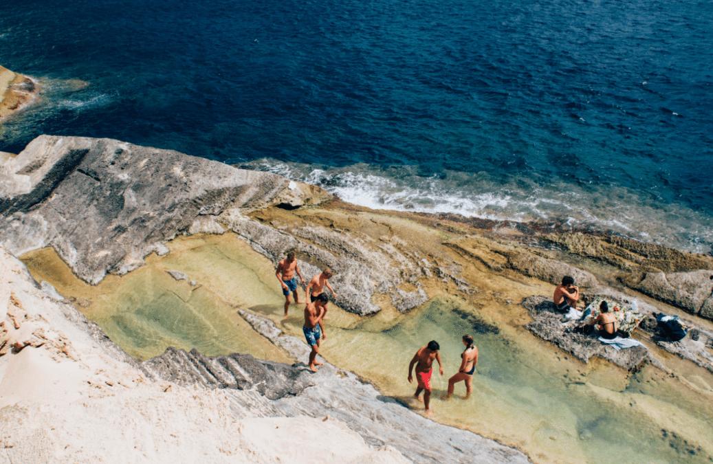 Ibiza, Strand, einsame Bucht