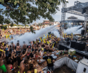 Party am Goldstrand in Bulgarien