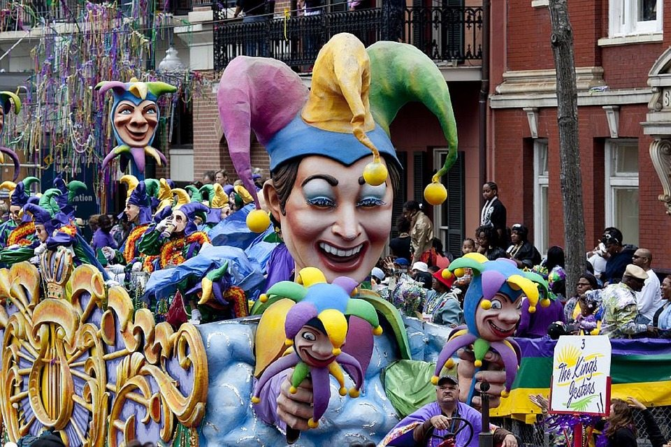 Mardi Gras New Orleans, 13. Februar 2018