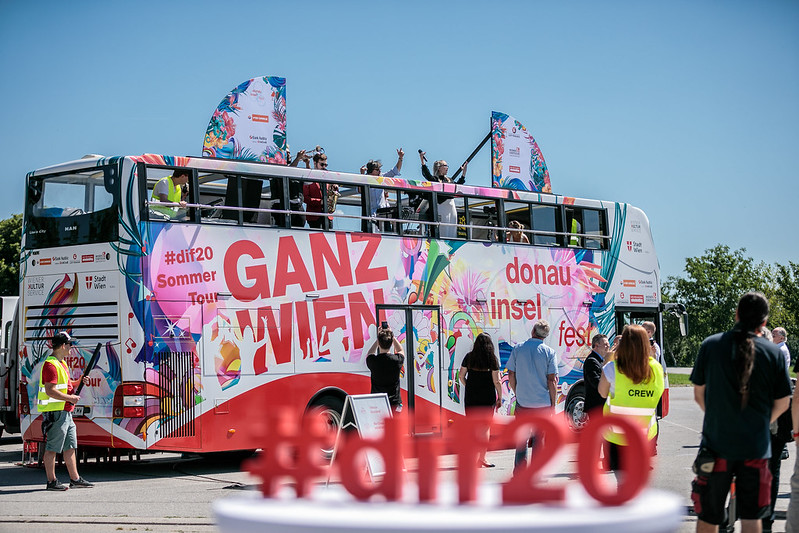 Donauinselfest 2020 Partybus